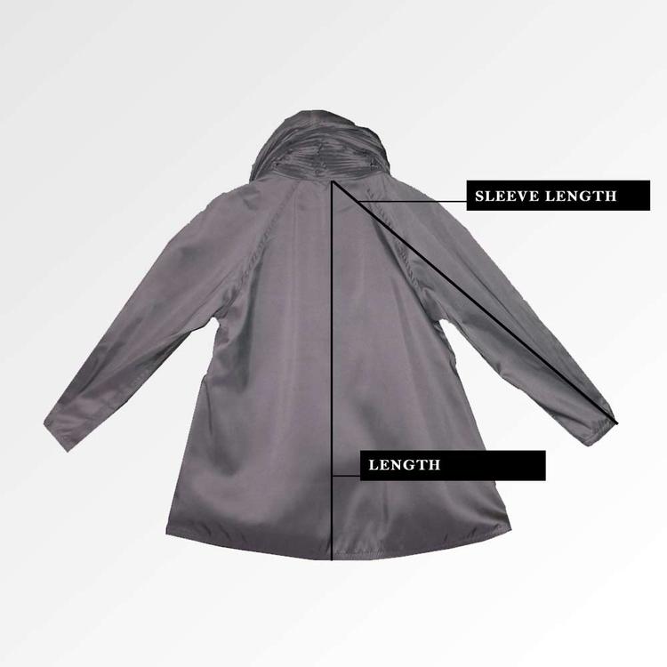 back of Mini Raincoat