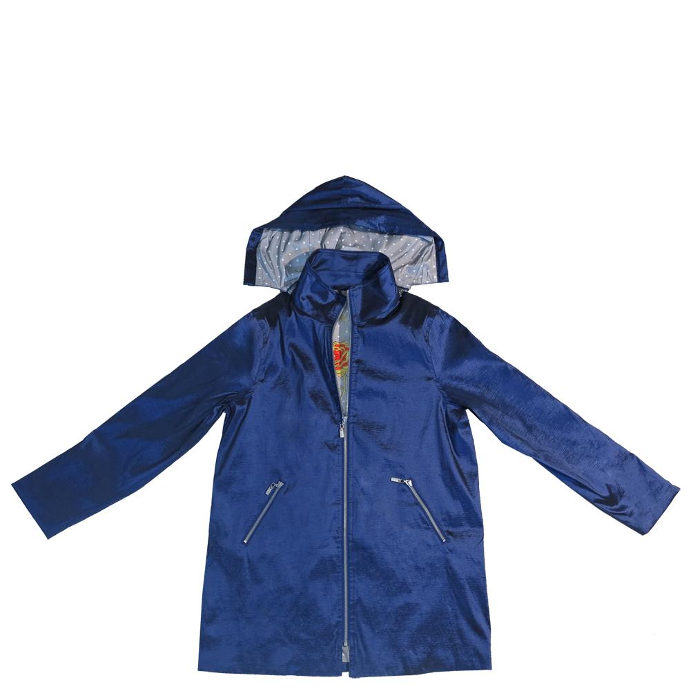 Navy Blue Gabby Raincoat