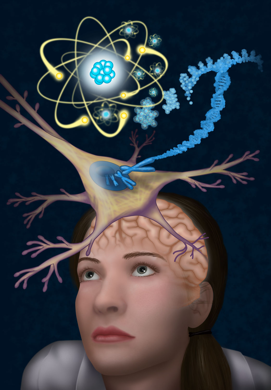 Beginning Biology lab cover for The University of Central Arkansas Adobe Illustrator & Photoshop