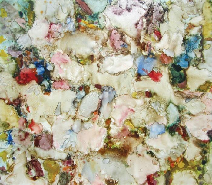 Alden Mason,  Warm Blusher , 1974, oil on canvas, 70 × 82 in.