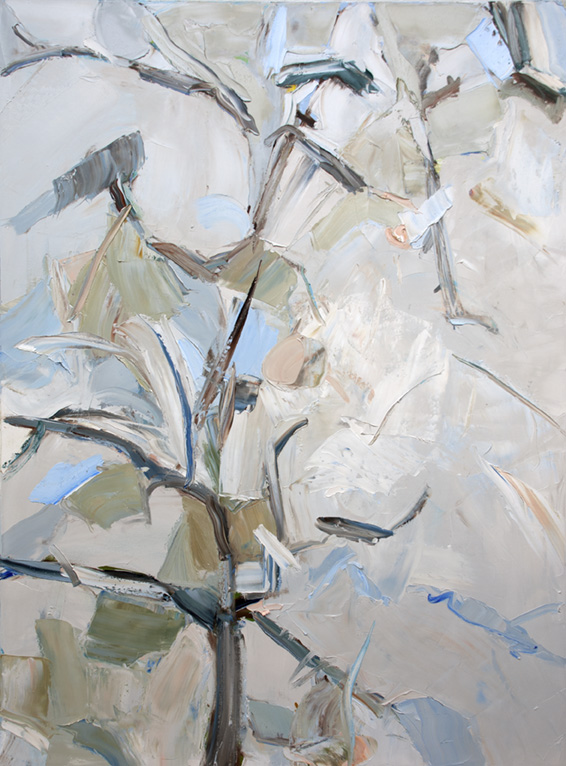 The Pear Tree,  2018 Oil on canvas, 48 x 36 Sold