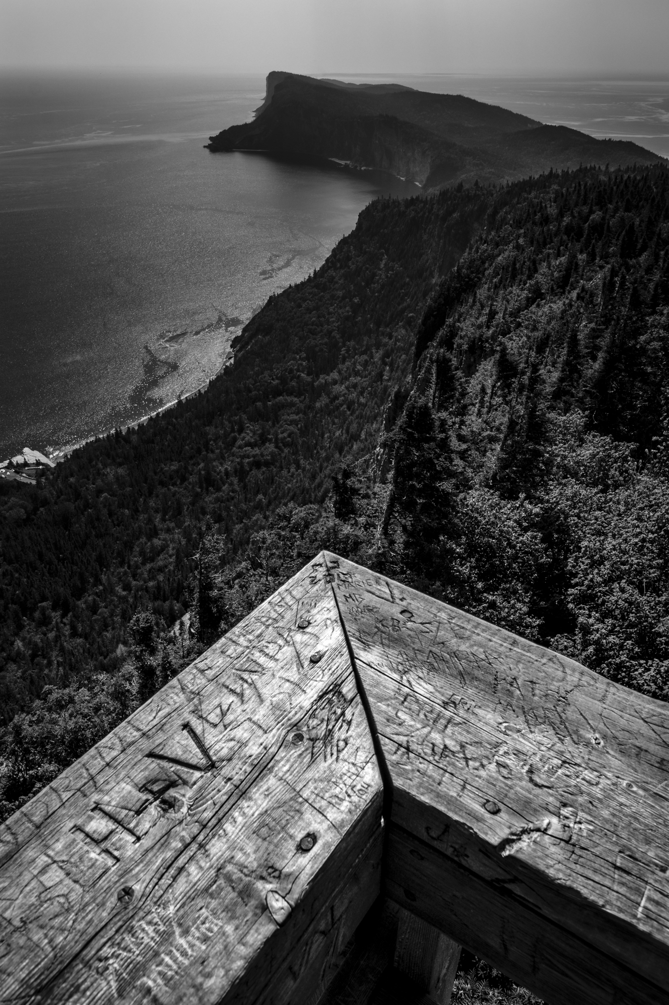 The End of the World Seen from Above, Gaspesie's 'Parc National Forillon'