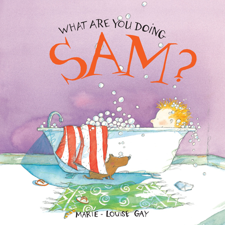 Stella's little brother Sam and his dog, Fred, get up to some wacky household antics.