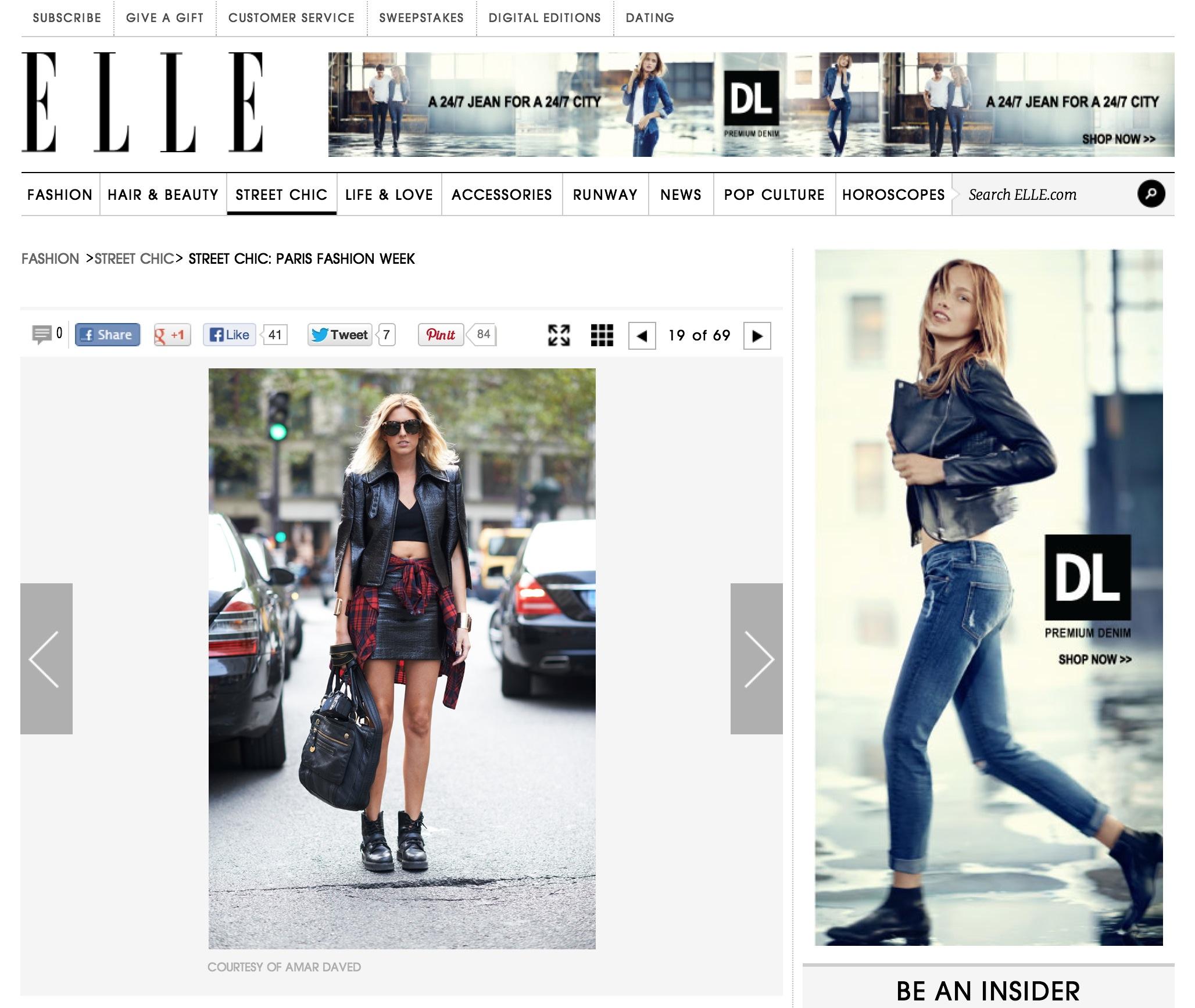 elle.com   Paris fashion week  Sept 2013