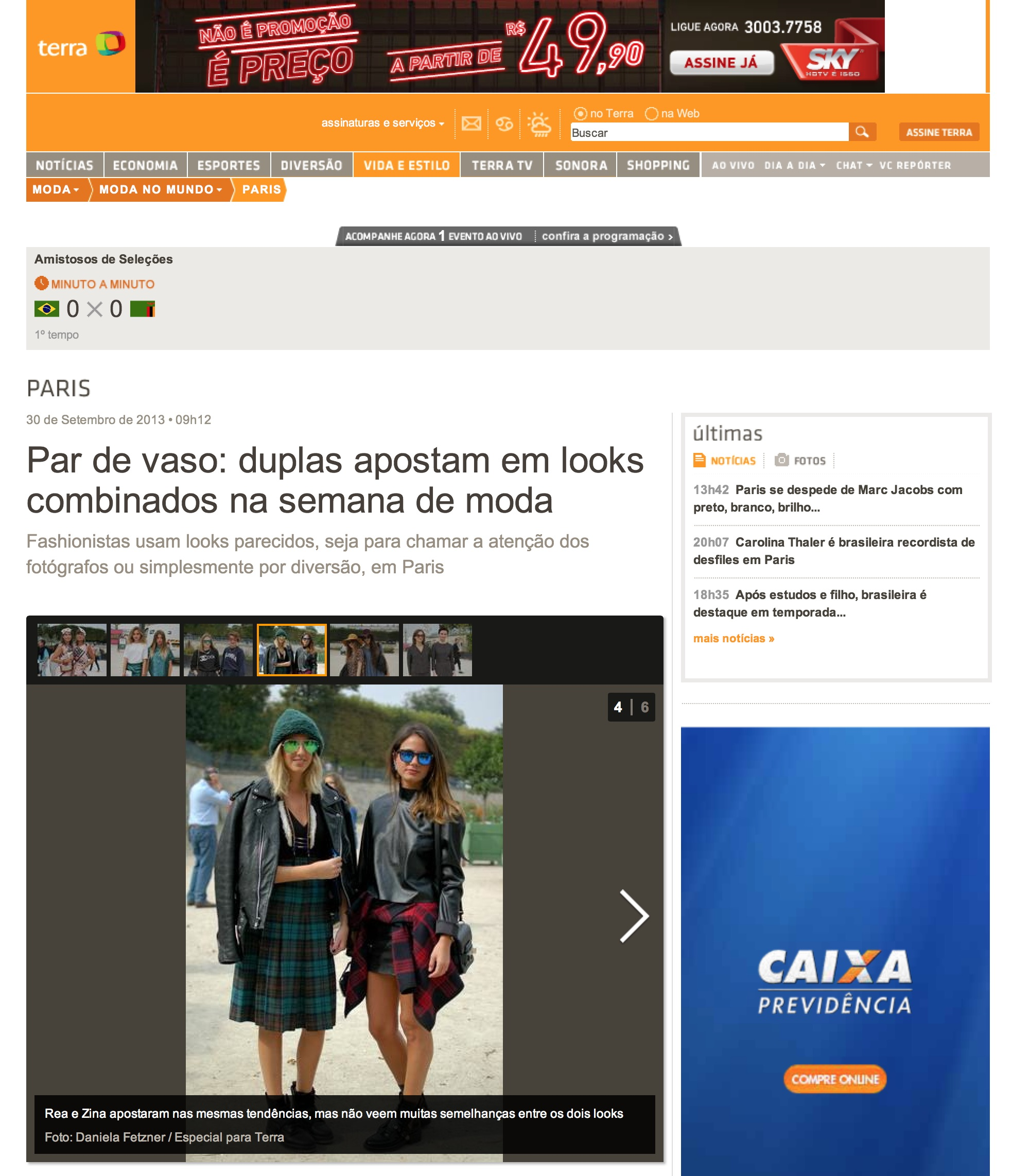 Terra Brazil   Paris fashion week  September 2013