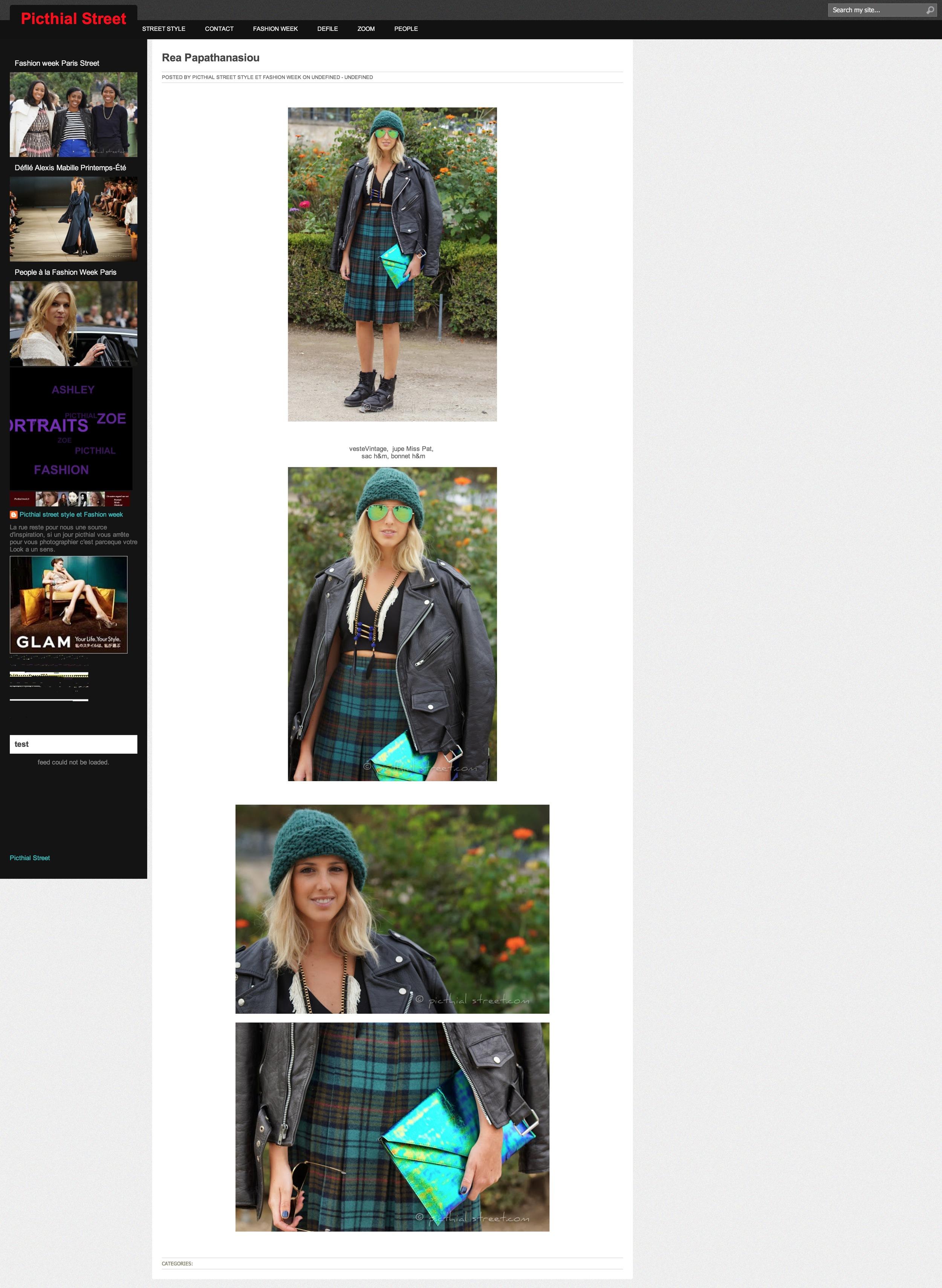 Picthial Street   Paris fashion week   Sept 2013