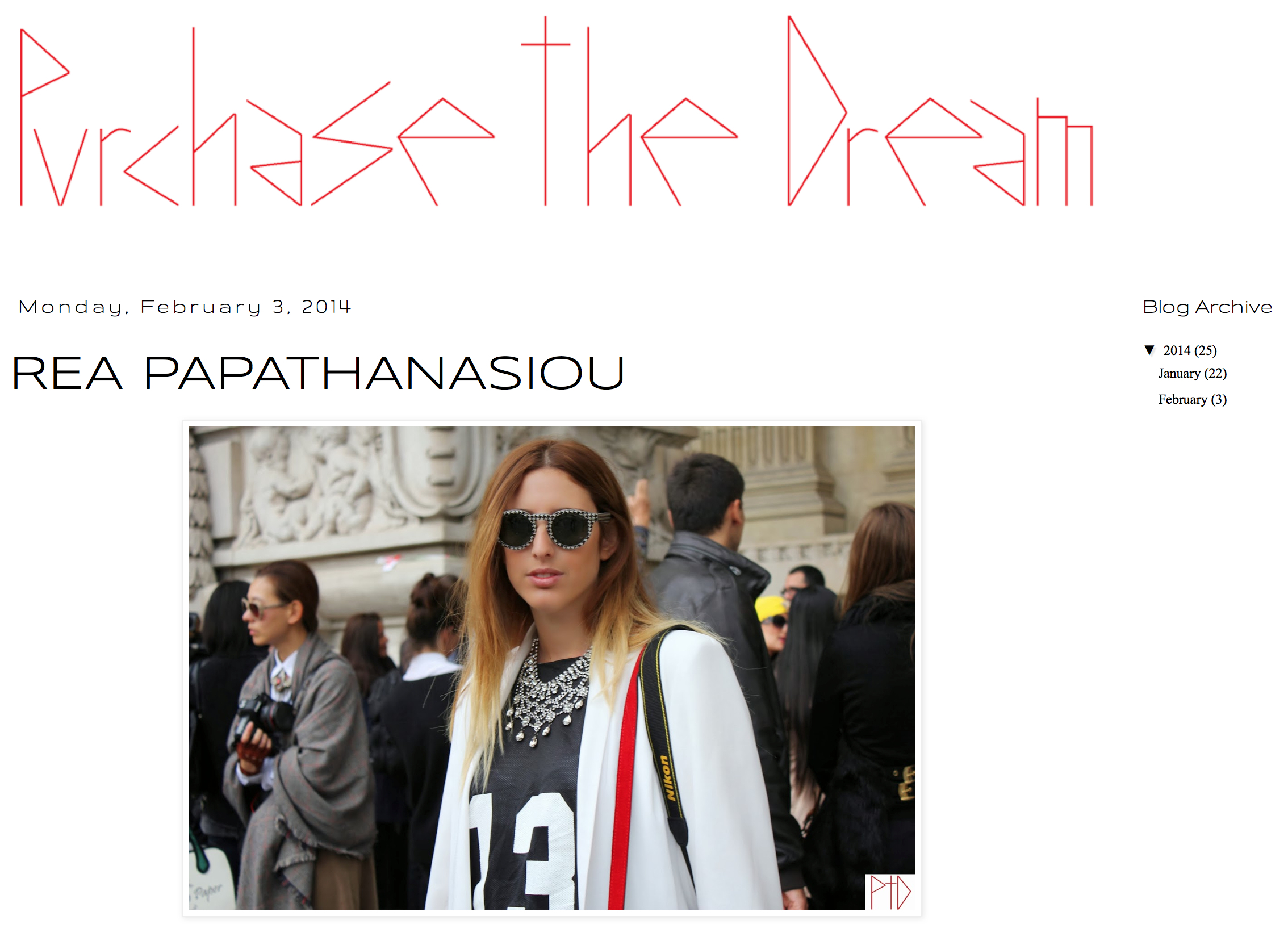 Purchase the Dream   January '14
