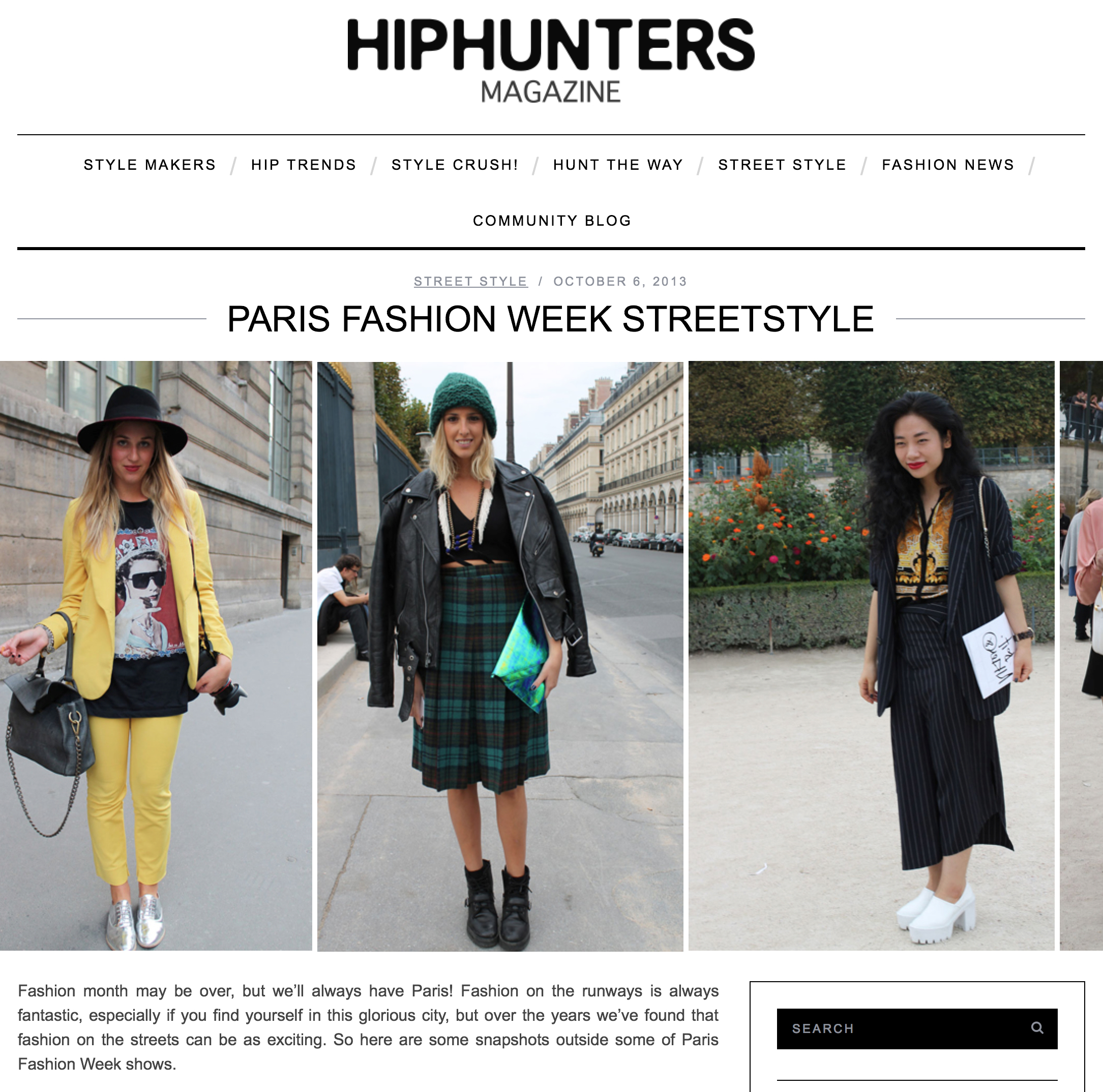 Hiphunters  October '13