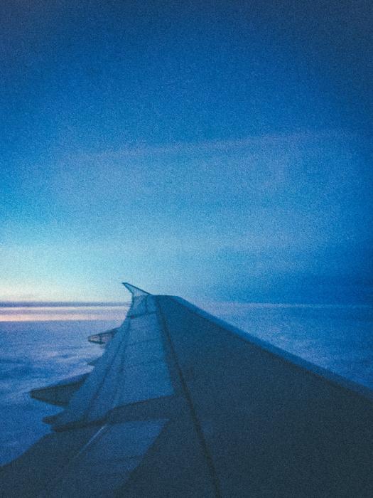 Heading home.