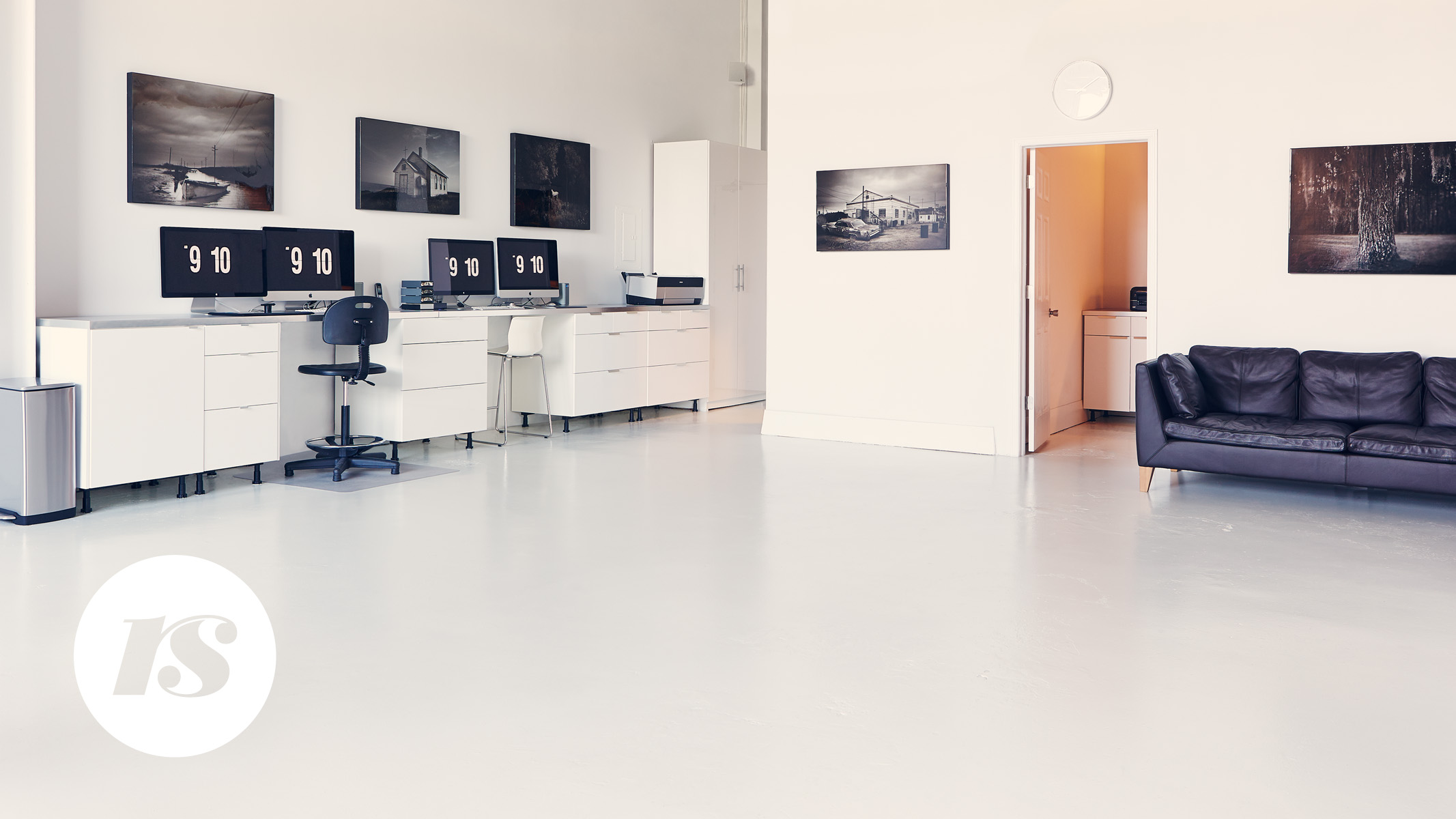 Post production area and office for clients