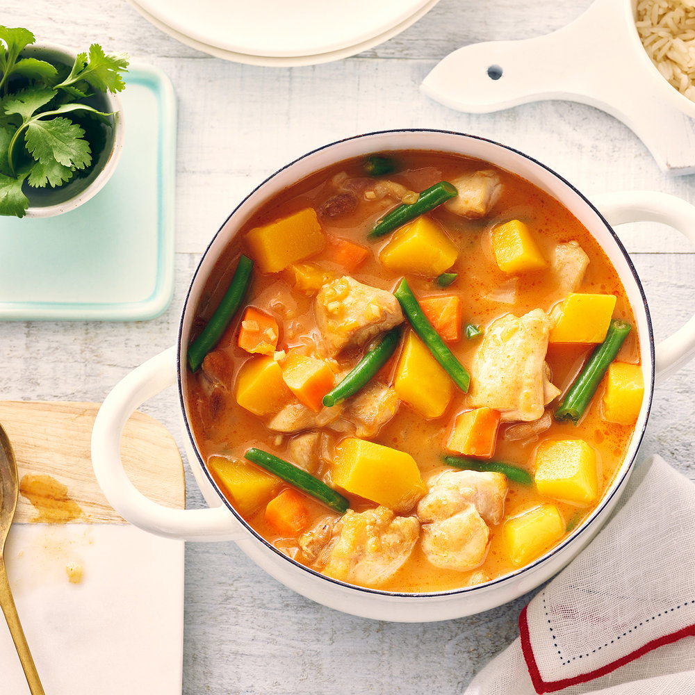 Chicken & Squash Coconut Curry