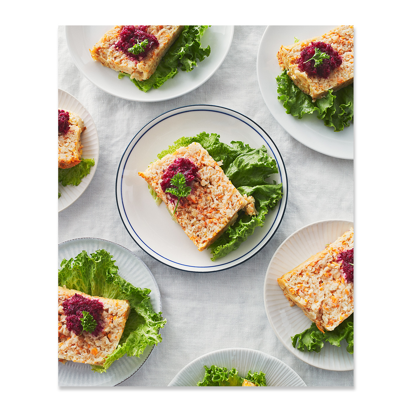 Gefilte Fish Loaf with Horseradish
