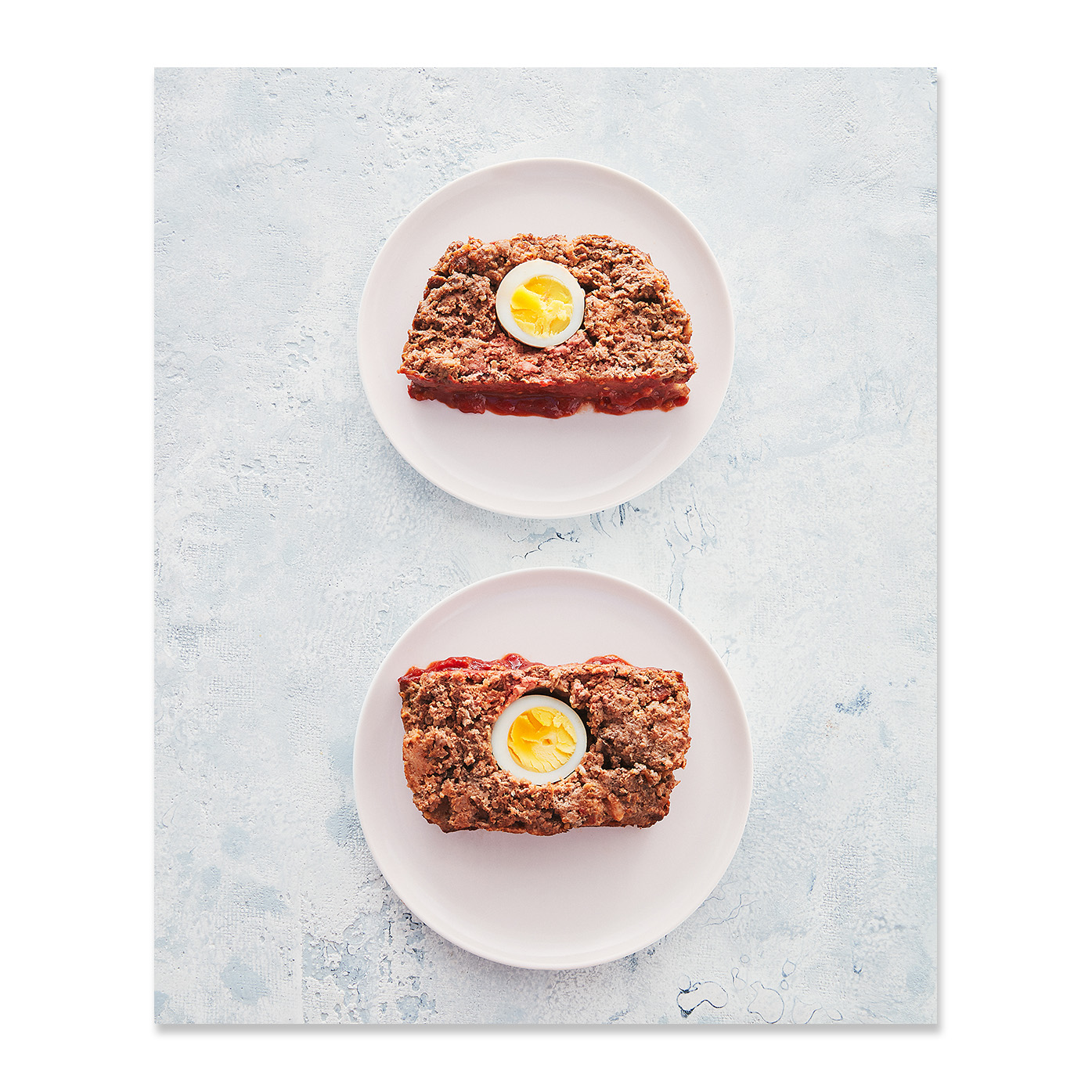 Meatloaf with Hardboiled Eggs