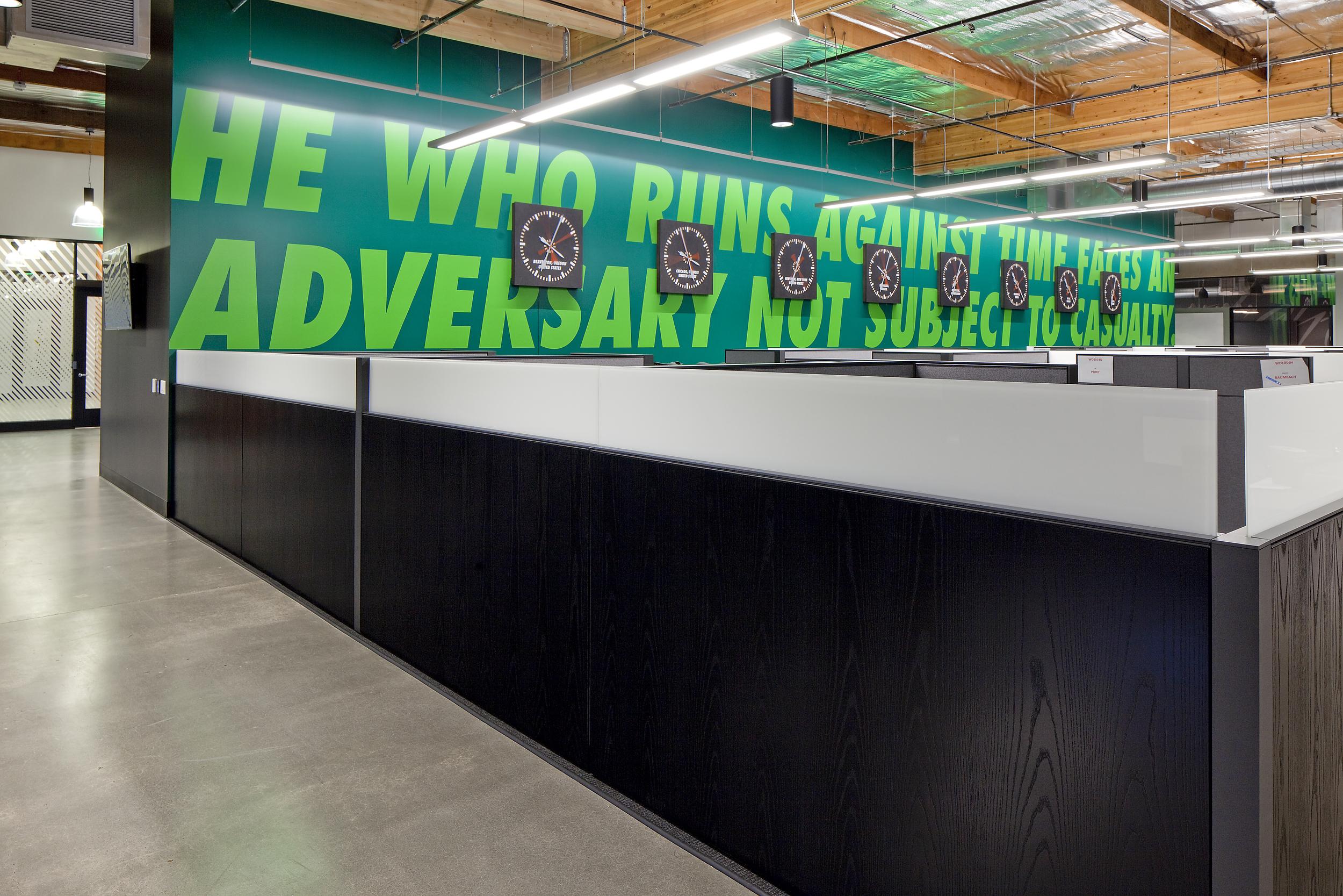 Nike Waterside Office Renovation