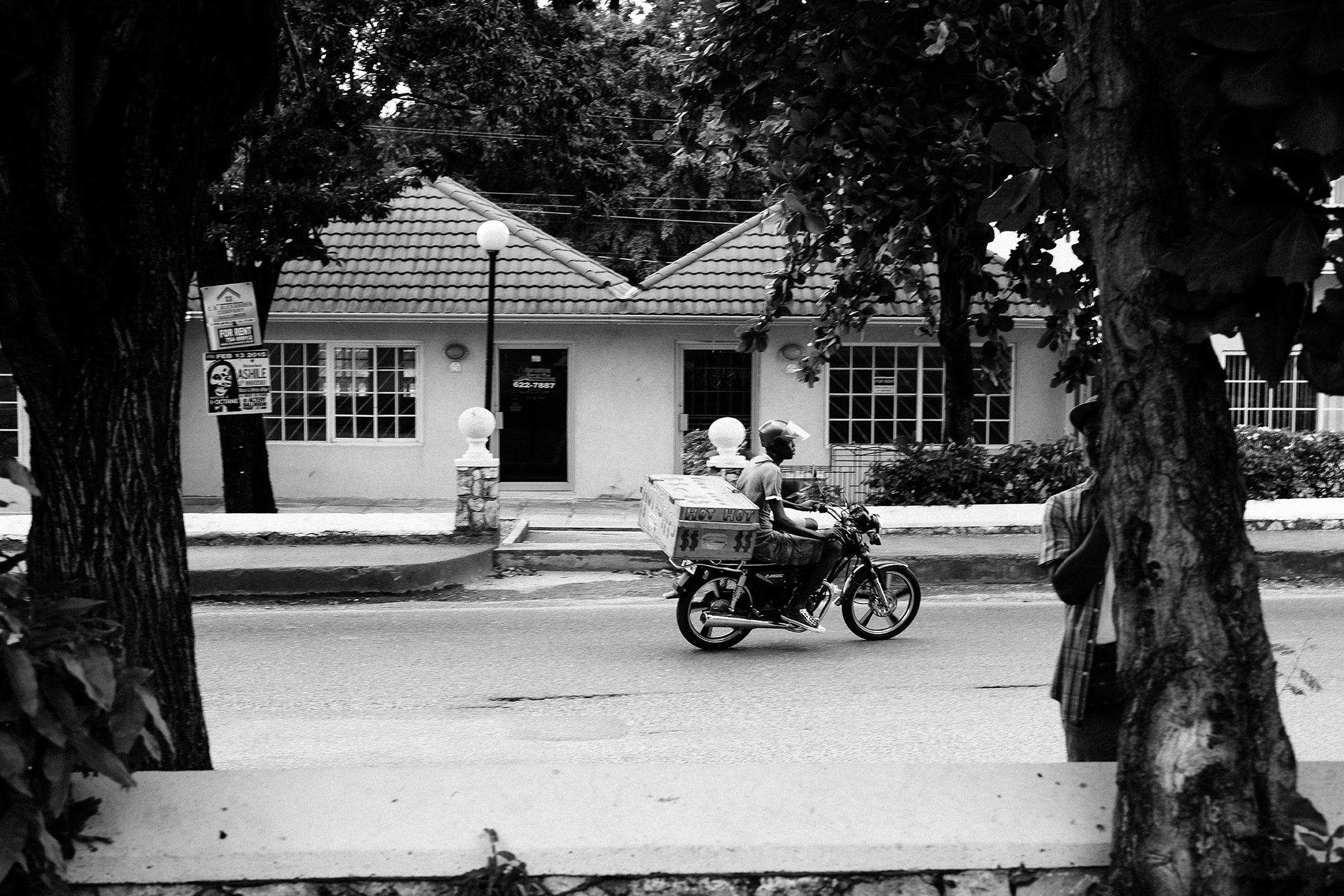 Motorcyclist, Jamaica
