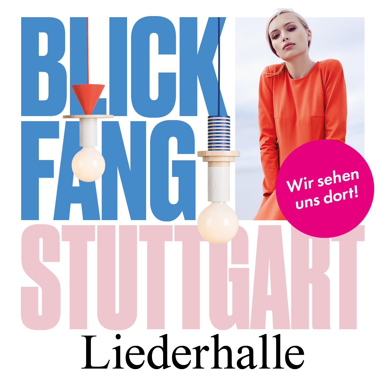 Blickfang- Internationale Designmesse - Stuttgart Liederhalle15.-17.März 2019www.blickfang.com