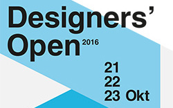 Designers' Open - Kongresshalle am Zoo Leipzig21.- 23. Oktober 2016www.designersopen.de