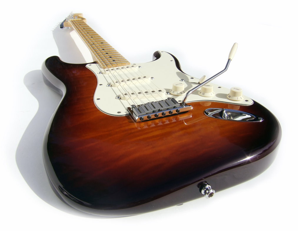 Fender American Stratocaster  by  irish10567 ,  Attribution 2.0 Generic