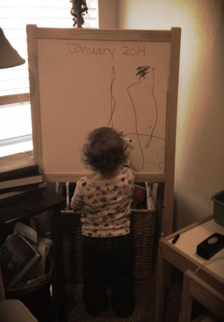 An Artist is Born. Kenzie, on Saturday