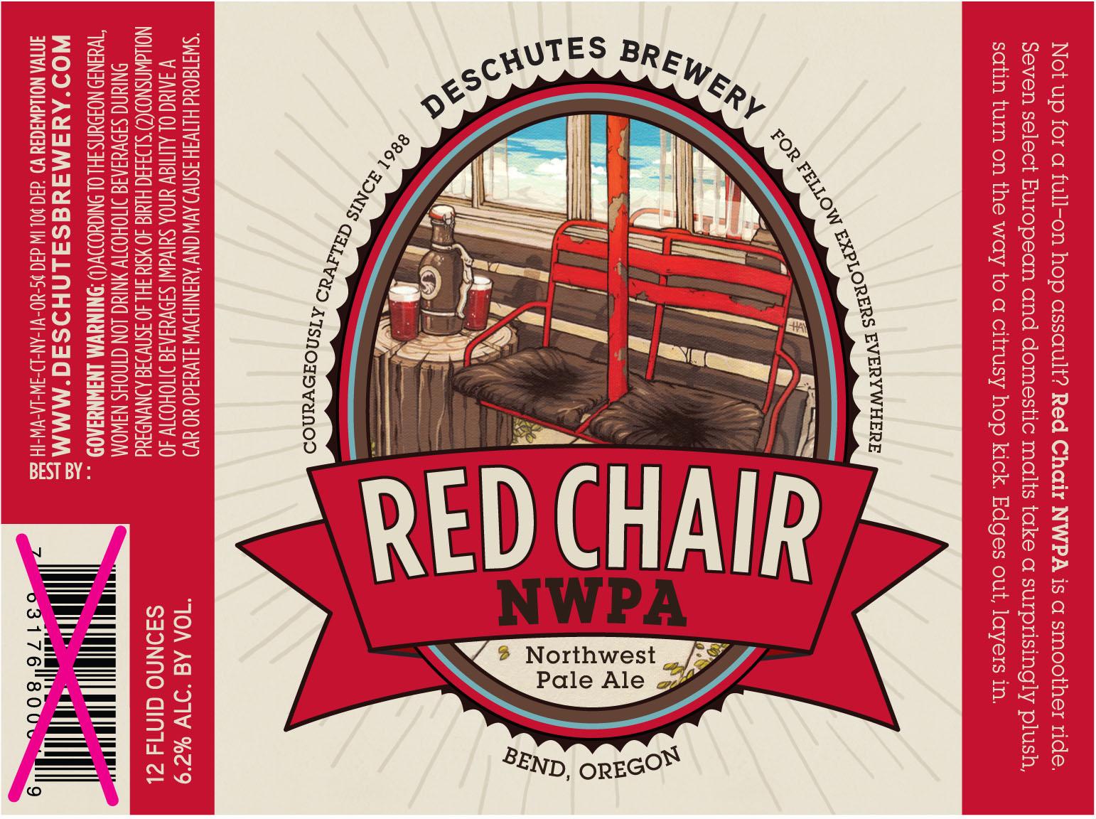 Deschutes's Red Chair NWPA