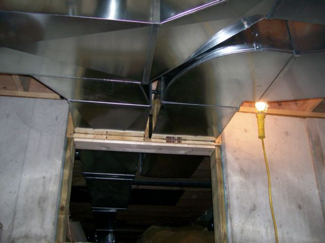 HVAC Custom Ductwork — K & E Sheet Metal