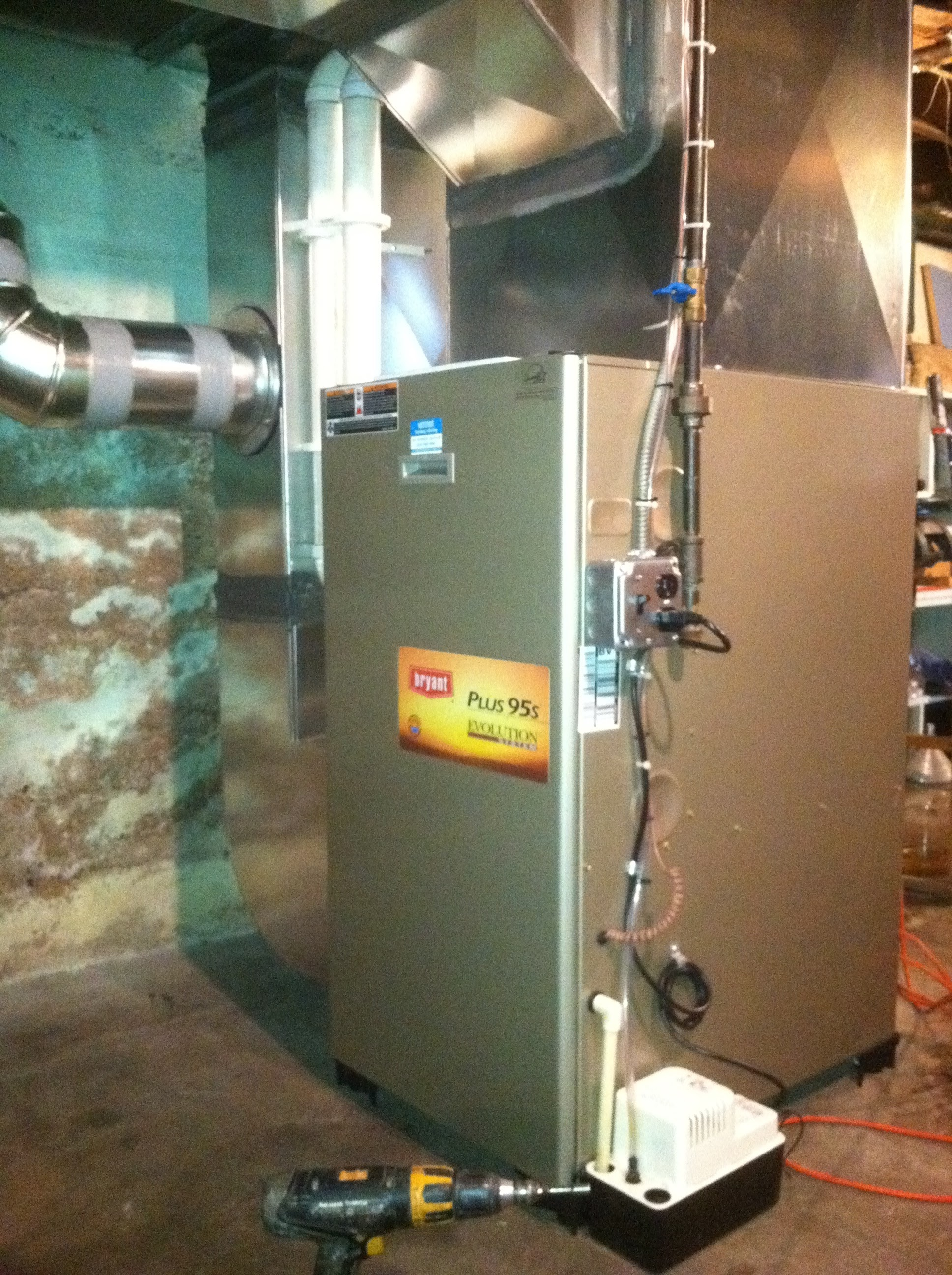 Oil Furnace Change-Out