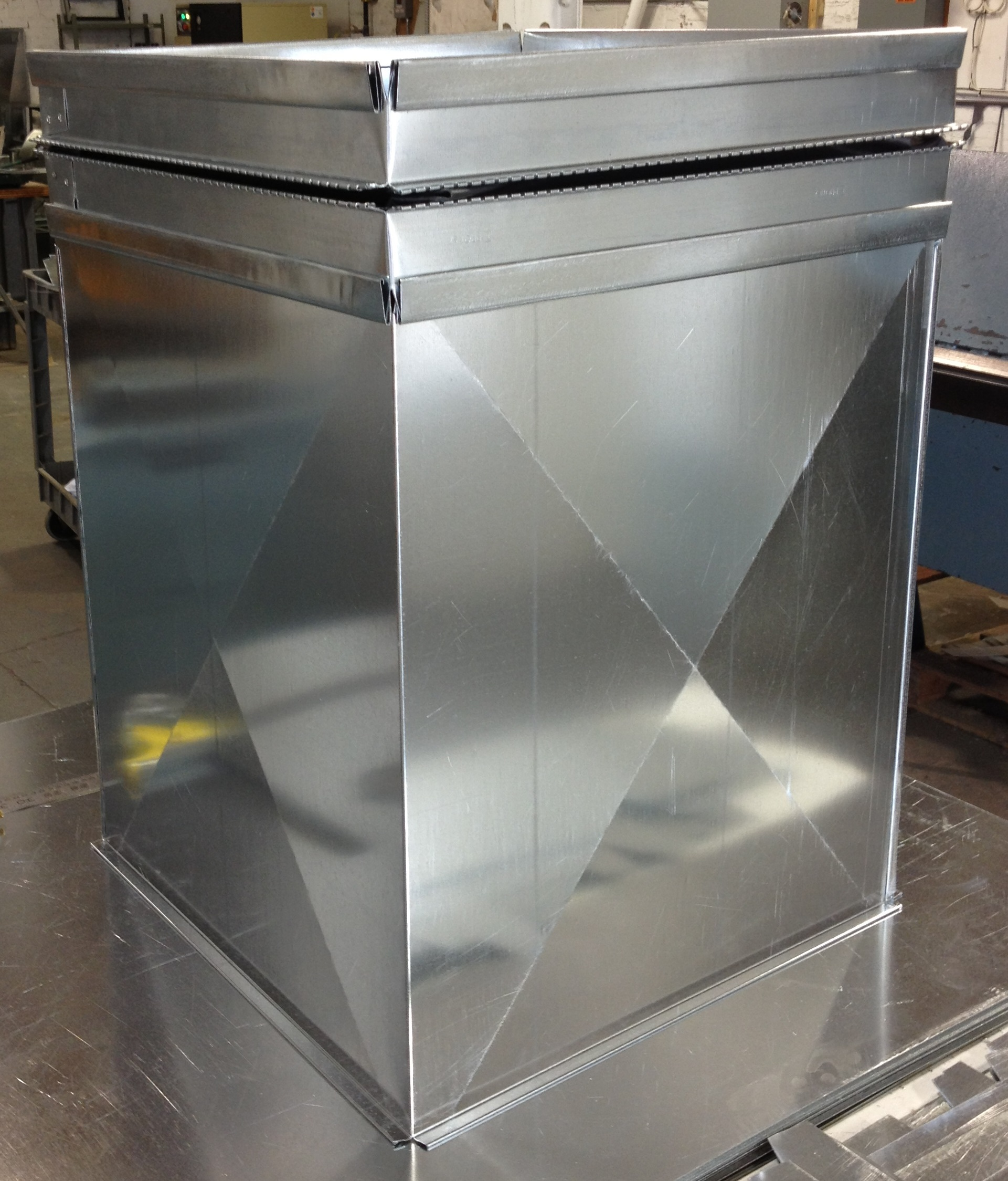 Custom Plenum & Flex Connector