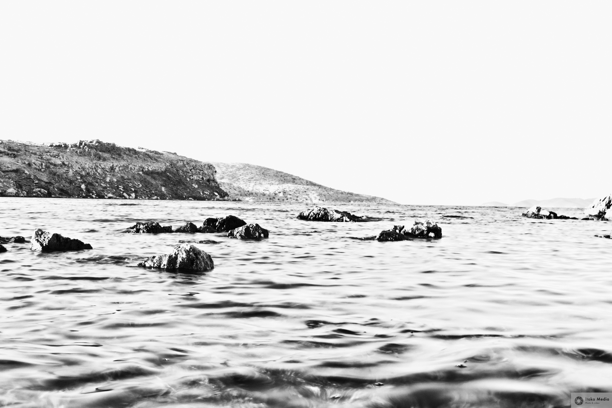the Sea B&W.jpg