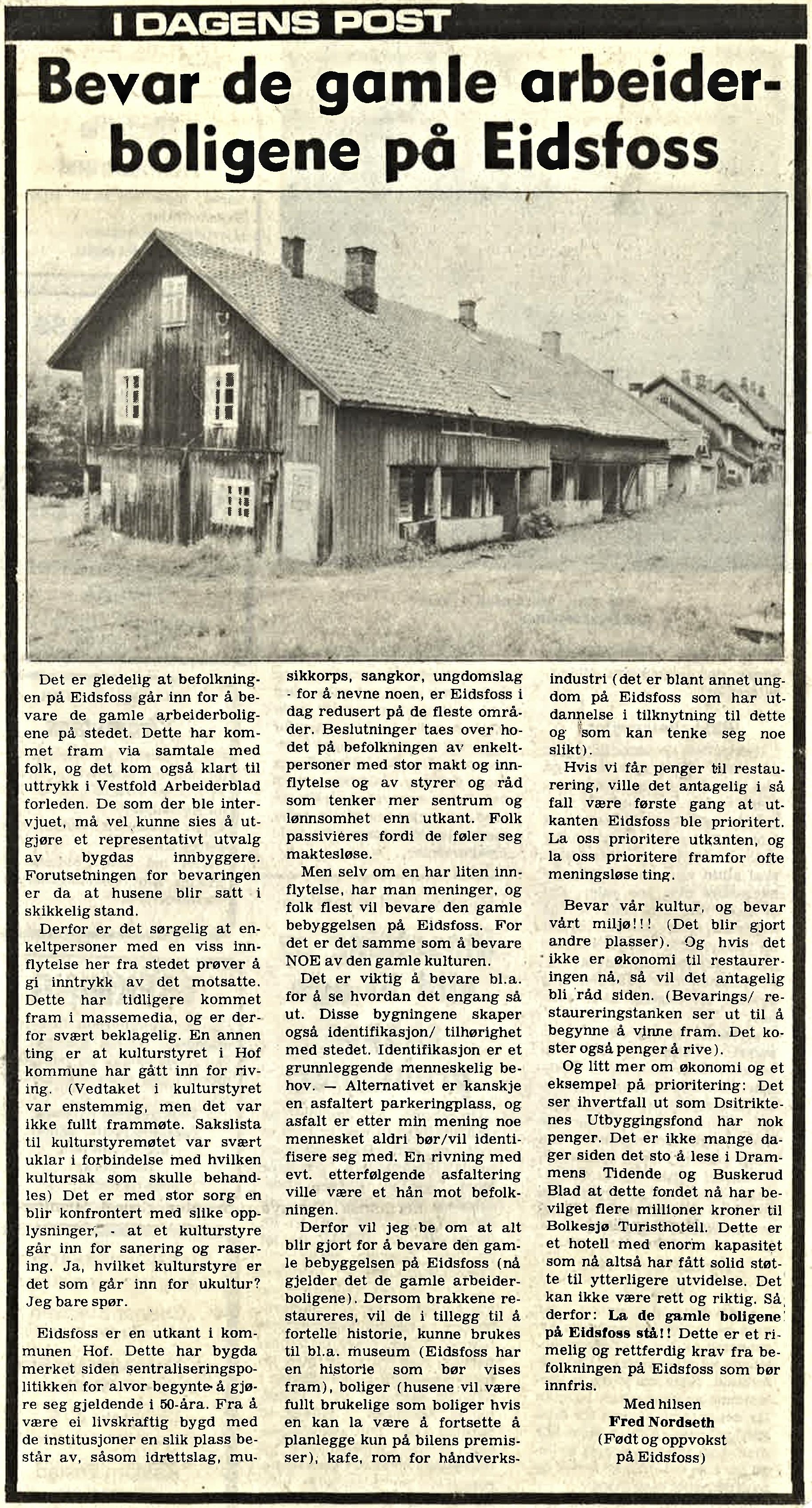 Vestfold Arbeiderblad 1978