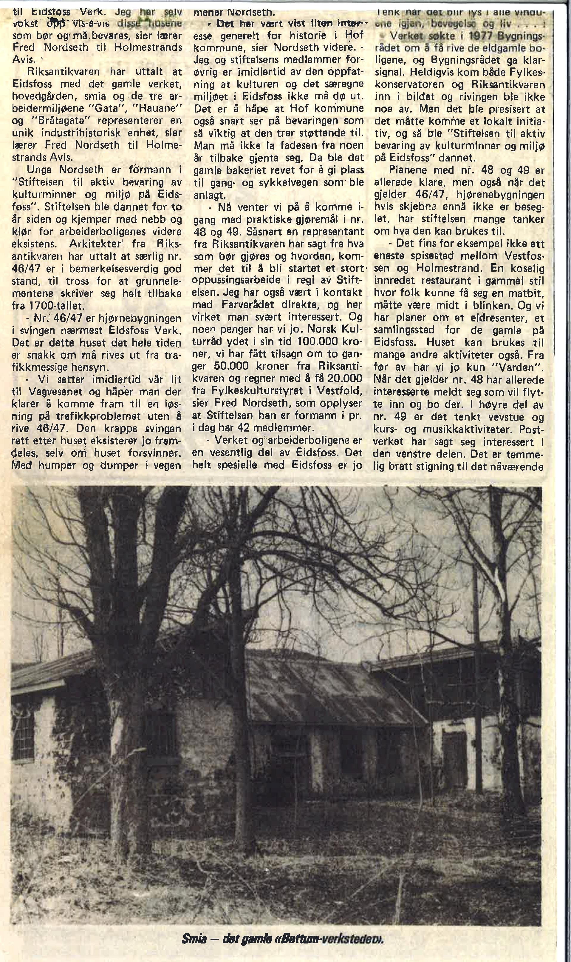 Vestfold Arbeiderblad 12. mai 1981