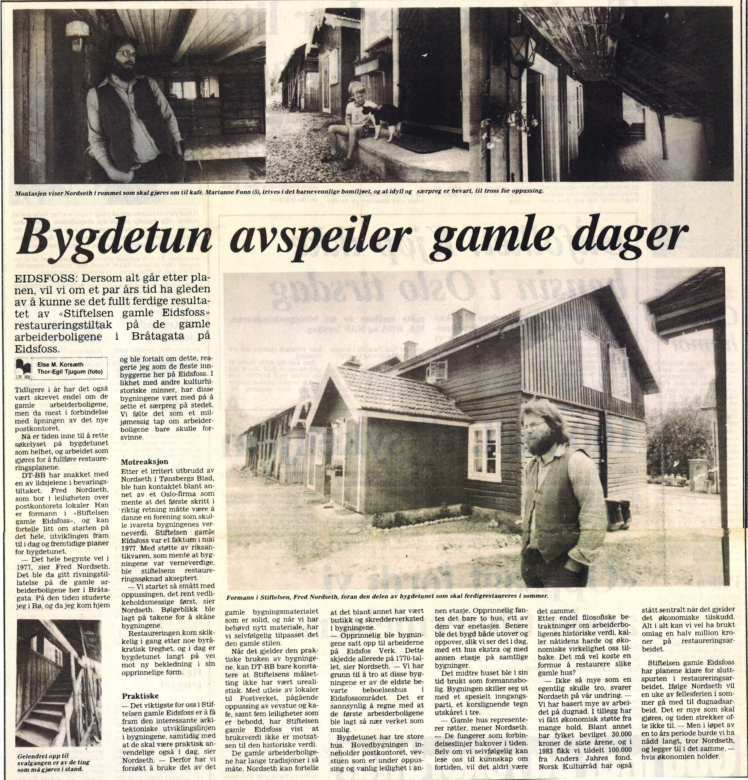 Drammens Tidende 22. juni 1984