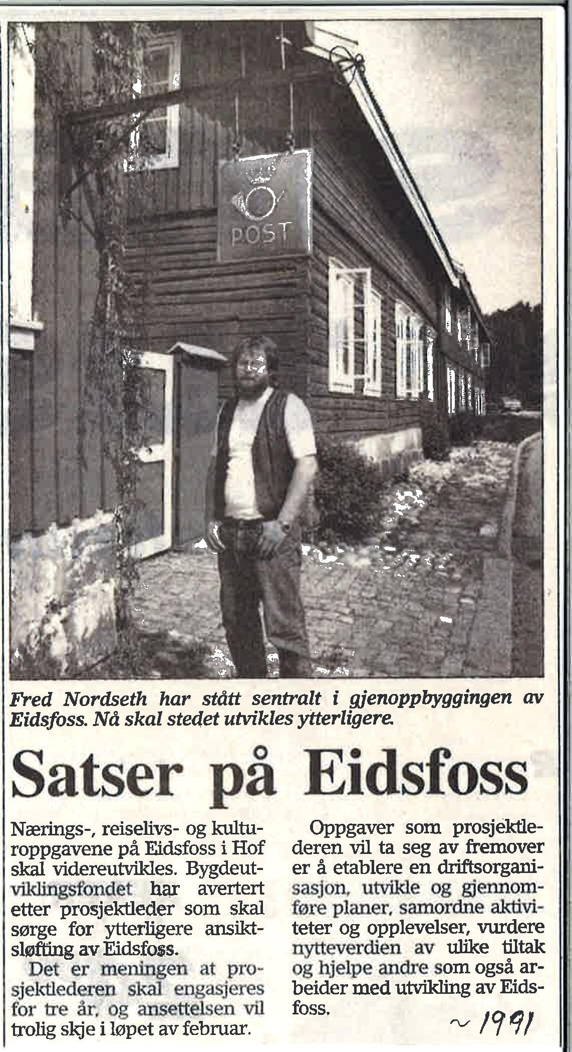 Tønsbergs Blad 7. mars 1991