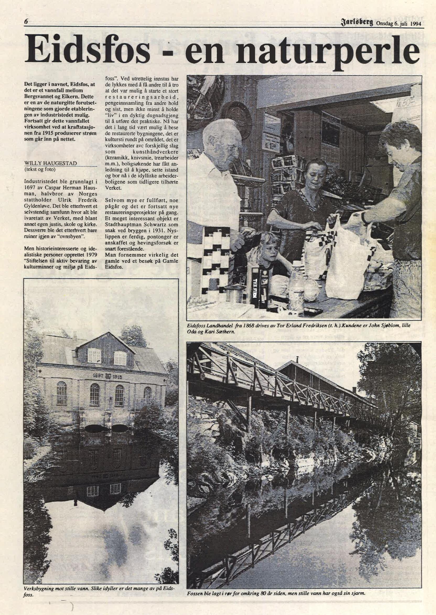 Jarlsberg Avis 6. juli 1994