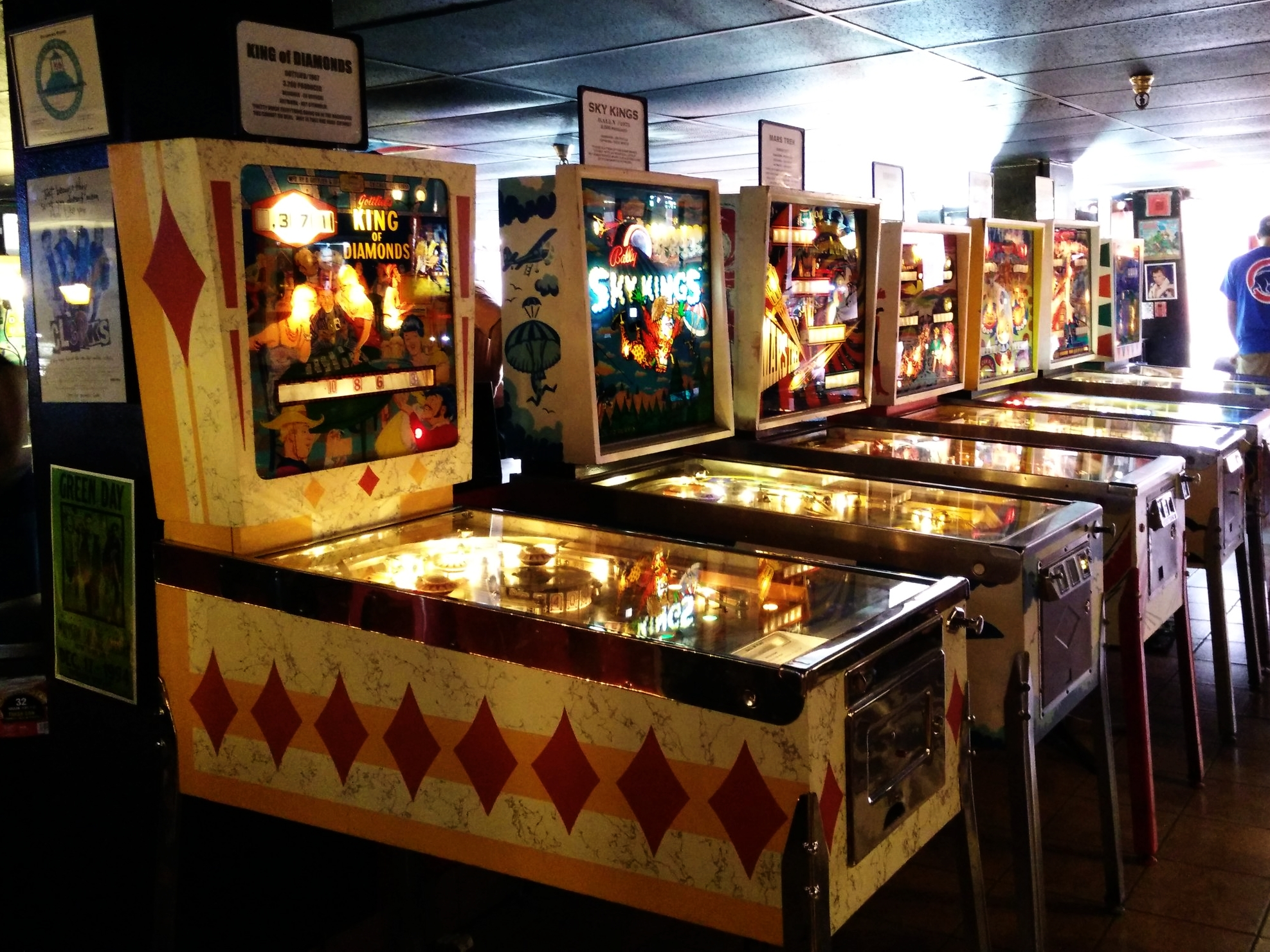 If you're a pinball fan, the admission price is about the best $15 you'll ever spend.