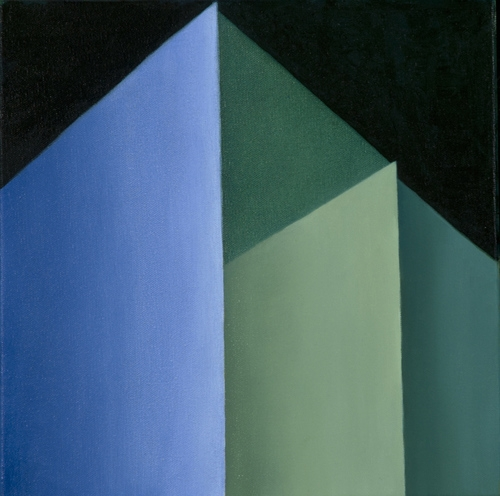 House of Light #10 | Oil on Canvas | 12 x 12in. | 2013