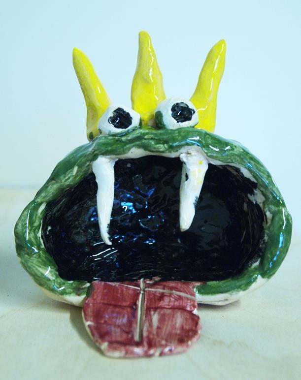 Pinch Pot Creatures