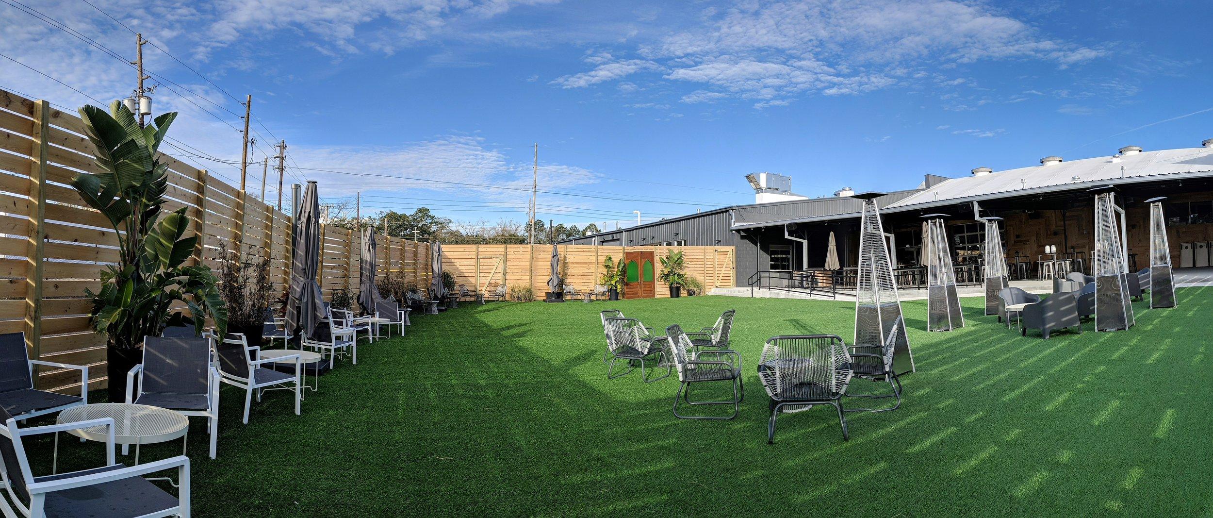 8000 Square Feet of Beer Garden