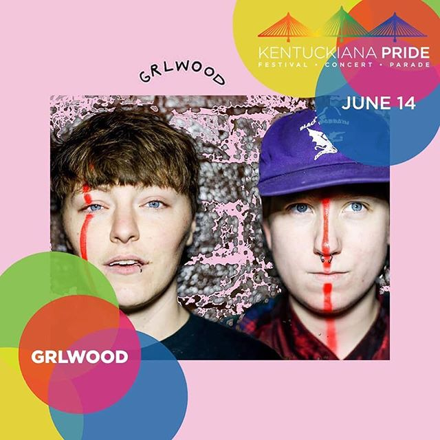 ❤️🧡💛💚💙💜HUGE NEWS! @GRLwood_Band just got asked to play this year's  Kentuckiana #PrideFestival taking place on June 14th! They're also slated to play at @919wfpk's #WaterfrontWednesday on September 25th! Get your glitter and your dancin' shoes dusted off!❤️🧡💛💚💙💜