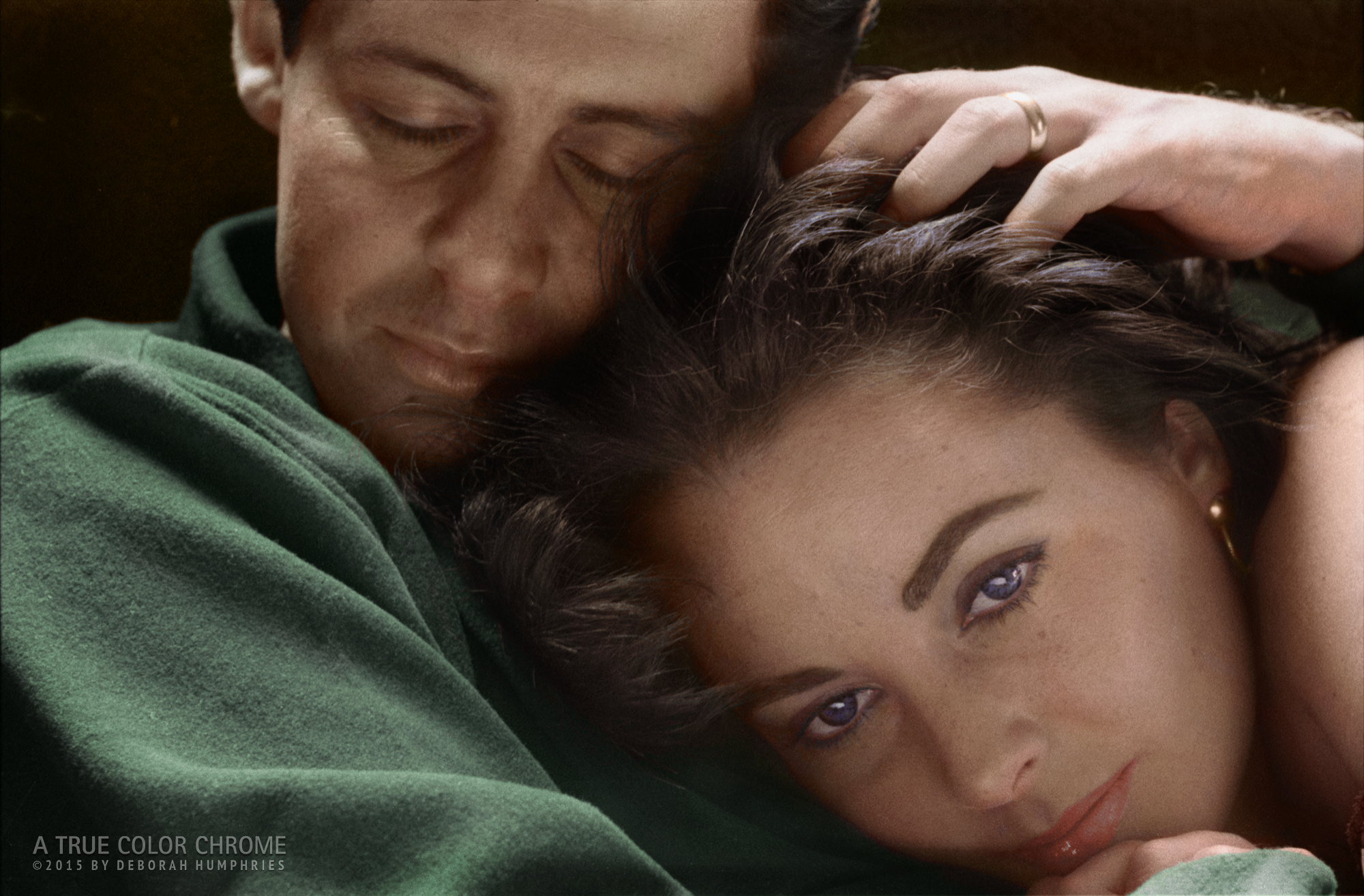 Eddie Fisher and Liz Taylor, c. 1961