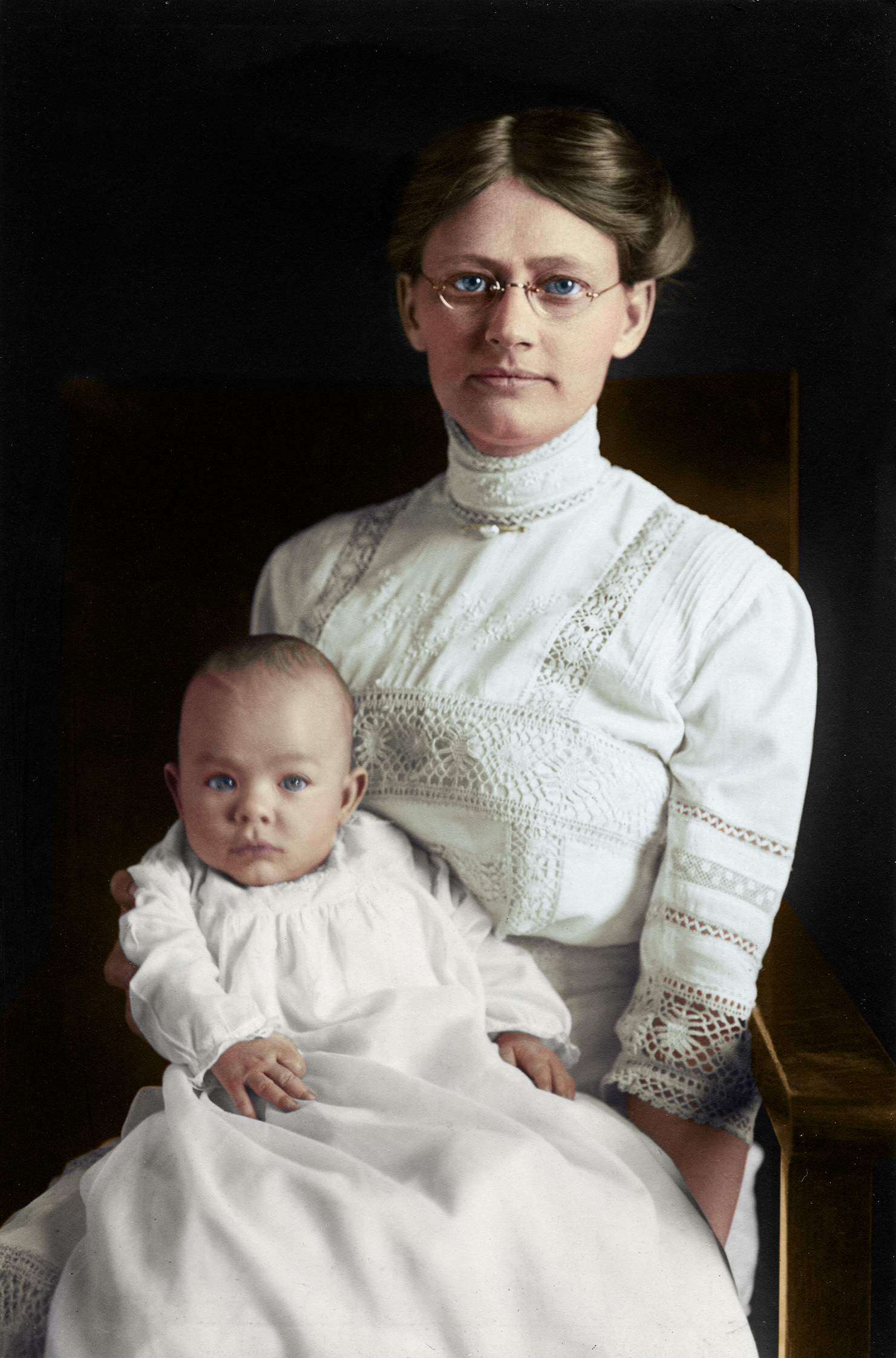 Annette and Finley Houston, Roswell NM, c. 1907
