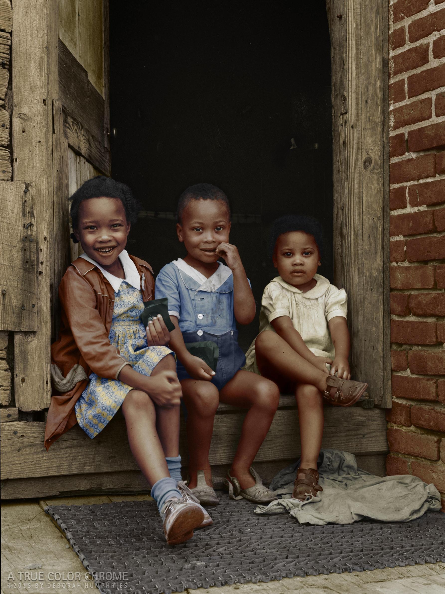 3 African American Children, 1941