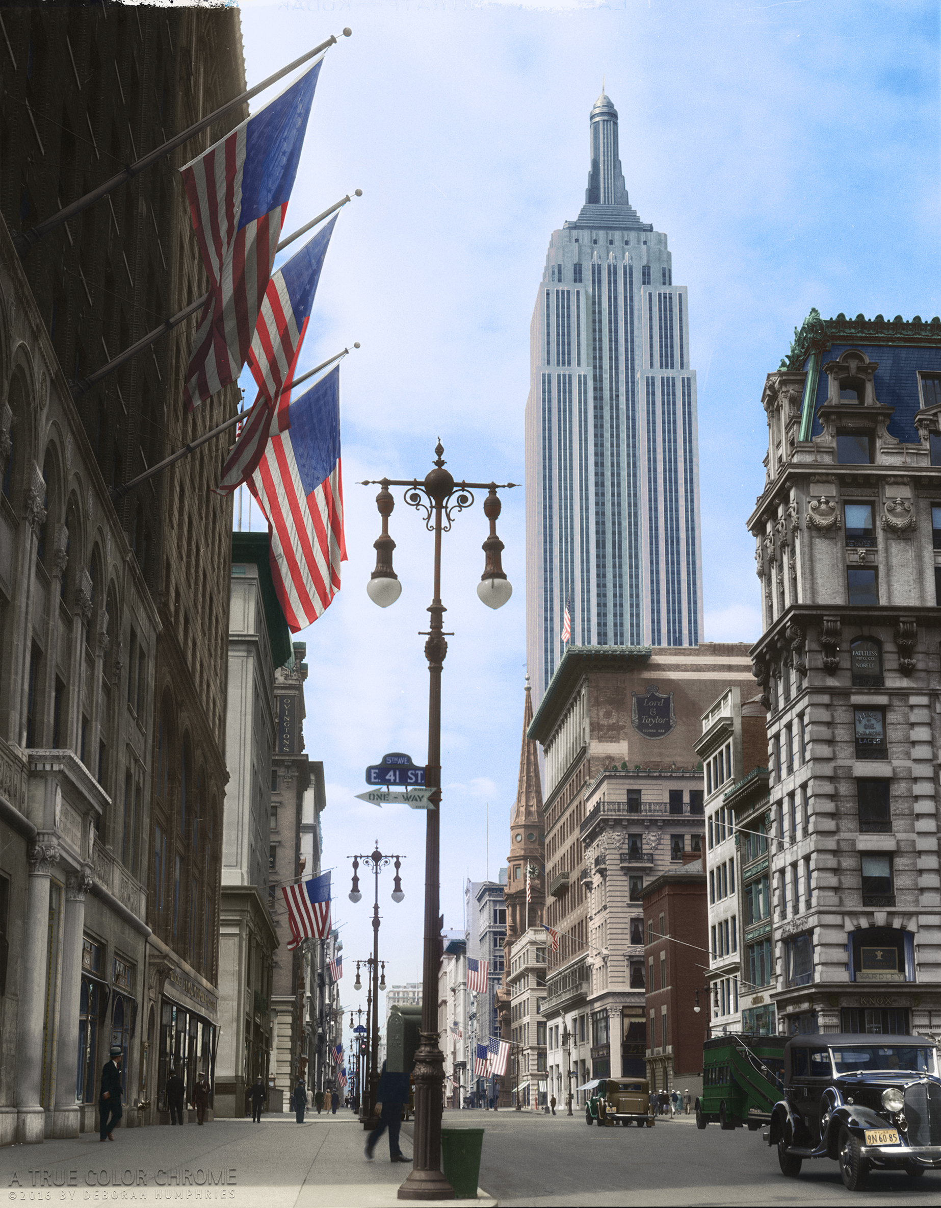Fifth Avenue and NYC