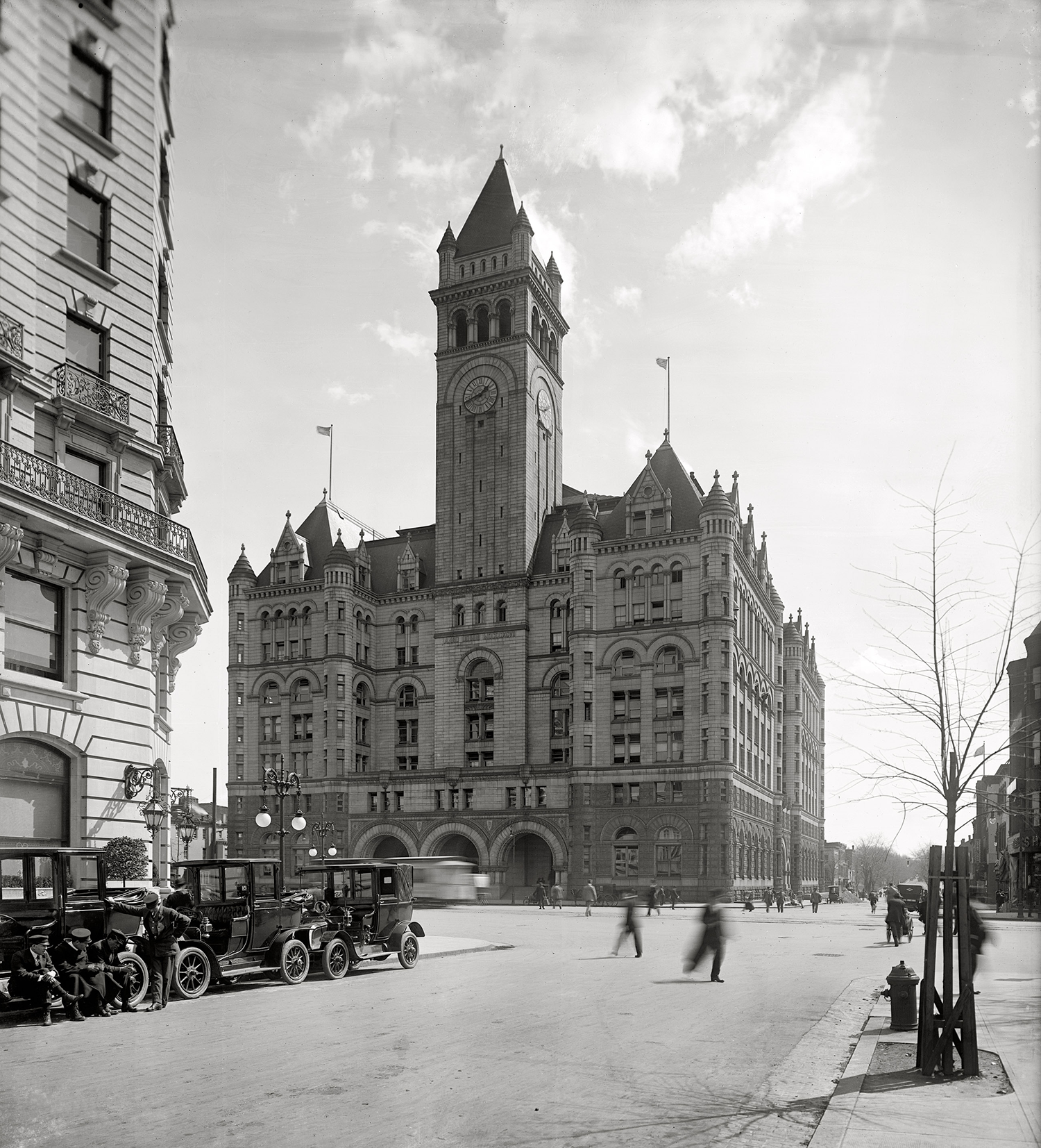 The Old Post Office, Washington DC, 1911
