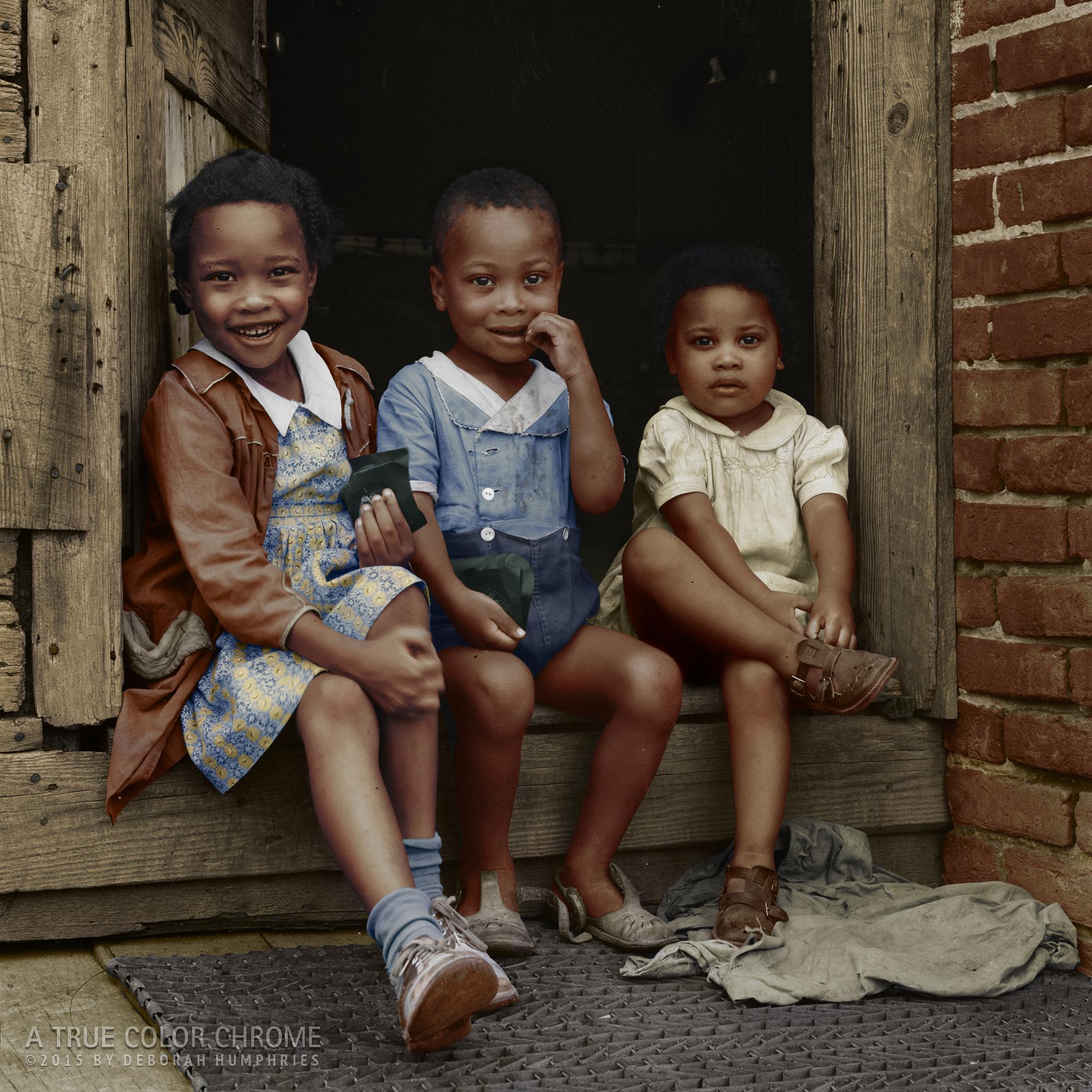 Three Children, July, 1941