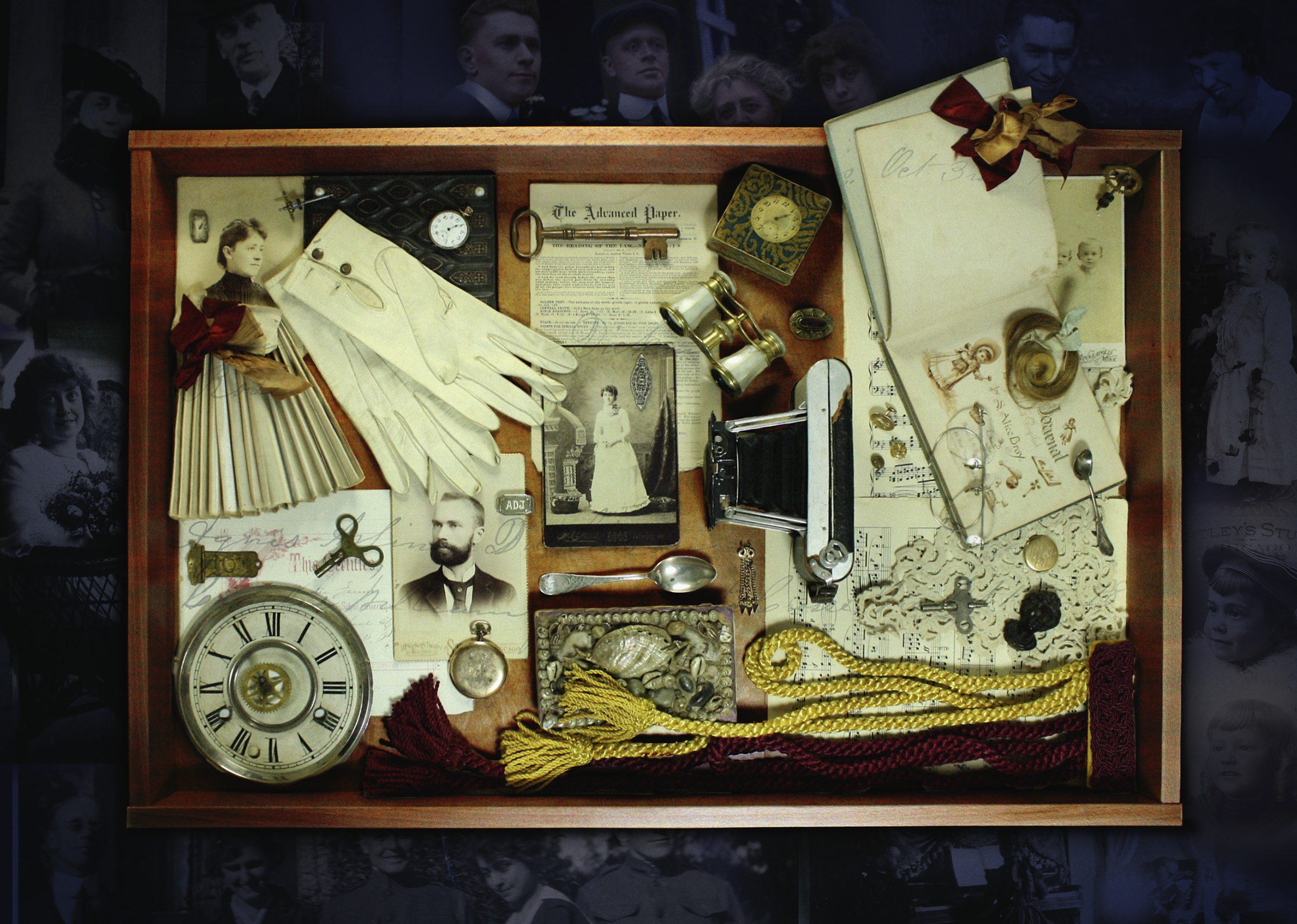 19th century family assemblage