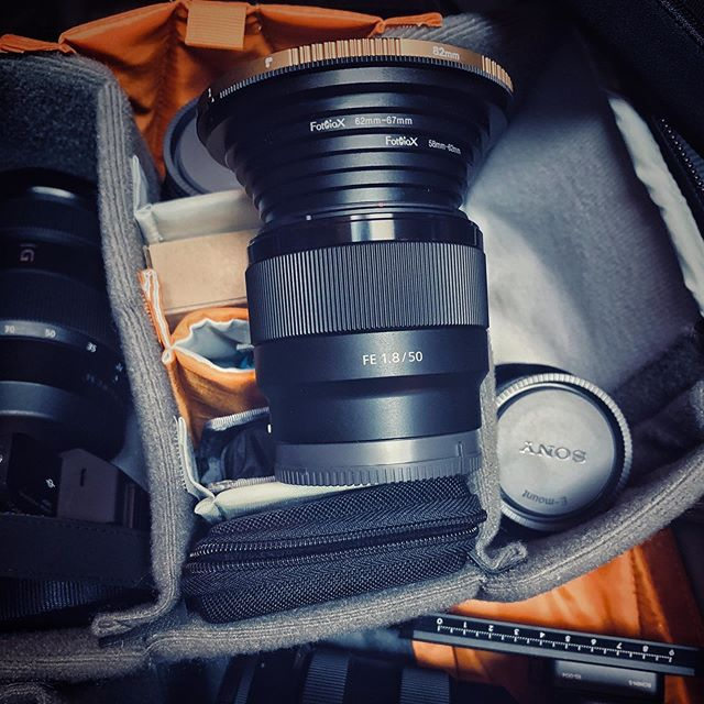The funniest looking lens in my kit these days! @fotodioxpro is a lifesaver!! @polarpro 82mm VND PM on a @sonyalpha 50mm f1.8 FE lens . . . . . #product #photographerlife #concept #designers #gmasterlens #fun #innovation #productphotography #petermckinnonvnd #yyj #entrepreneurlife #entrepreneurs #victoriabccanada #polarpro #onlinemarketing #motivational #sonyalpha #successful #lowepro #explorecanada #canadaswonderland #igerscanada #whatsinmybag #ohcanada #unlimitedcanada #sonyimages