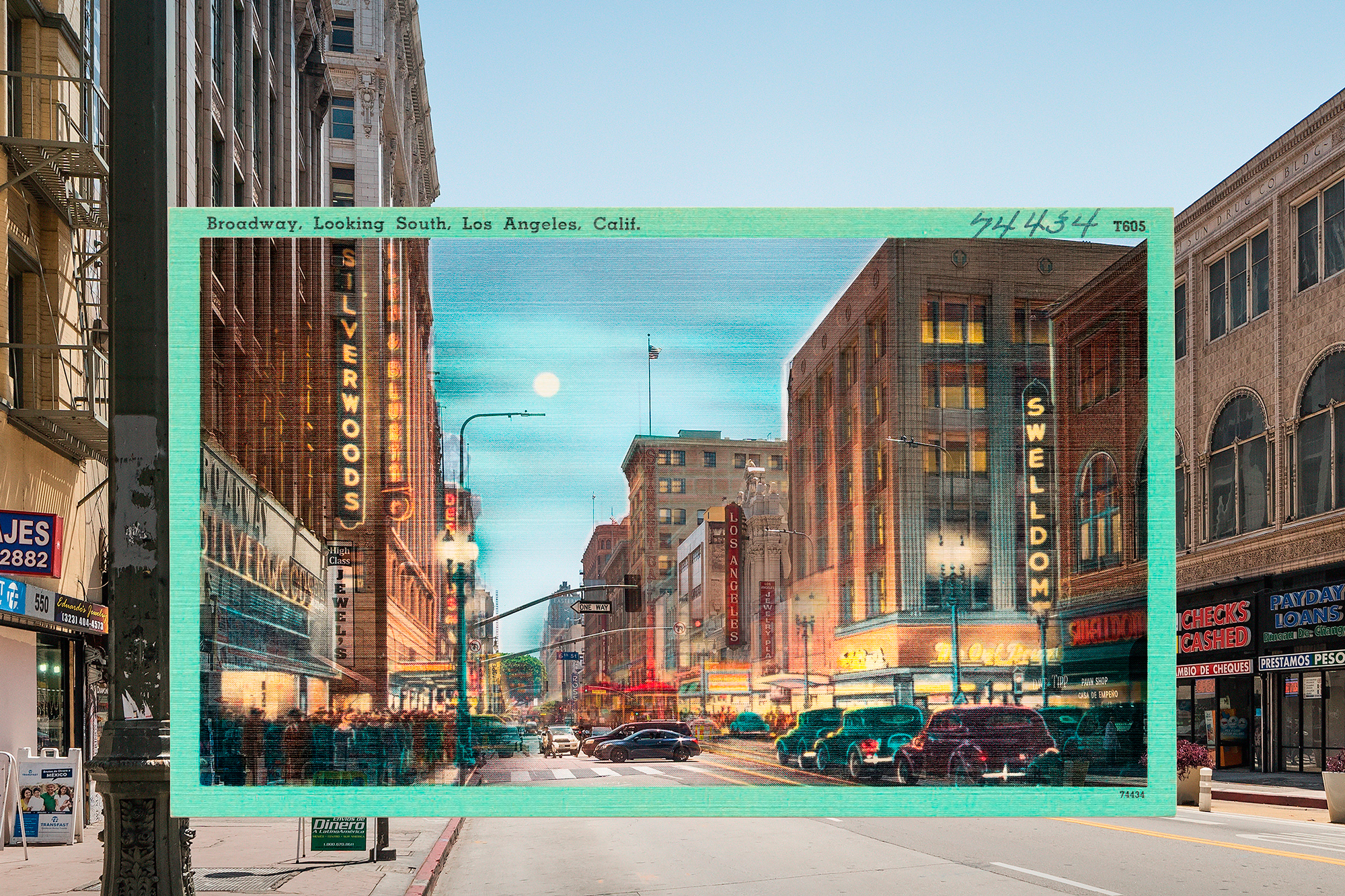 """From the upcoming postcard book """"Downtown Los Angeles - A Look Back"""""""