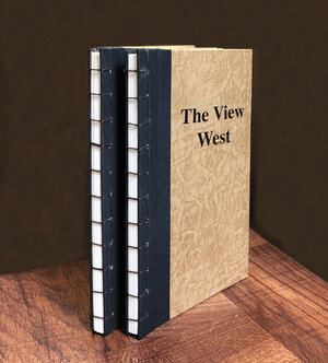 The View West - Hand-made, Limited Edition Artist Book, Sold Out