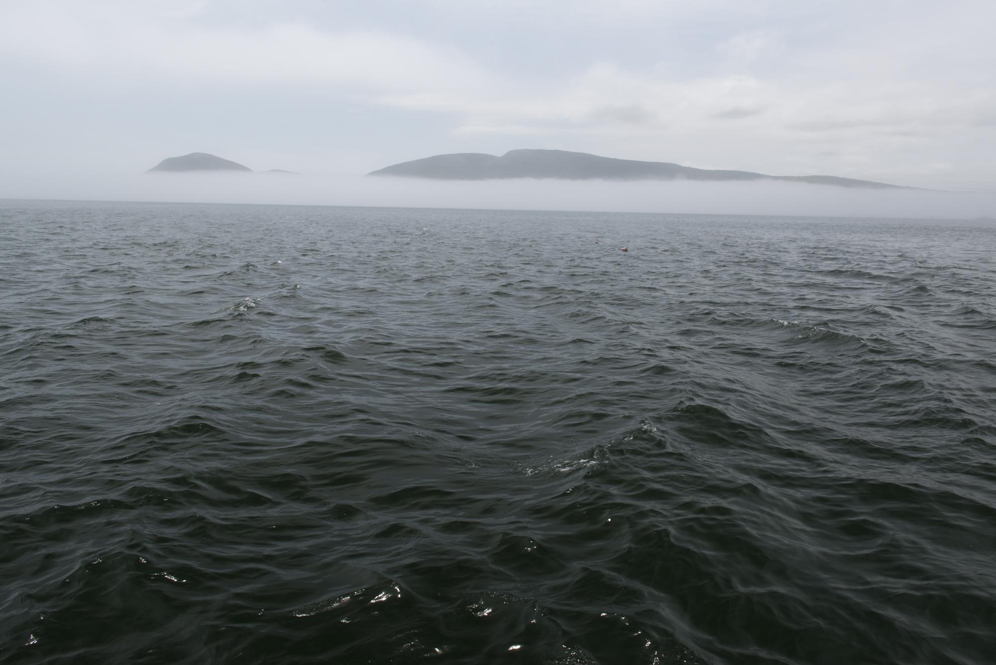 Bar Harbor Fog Bank, original image