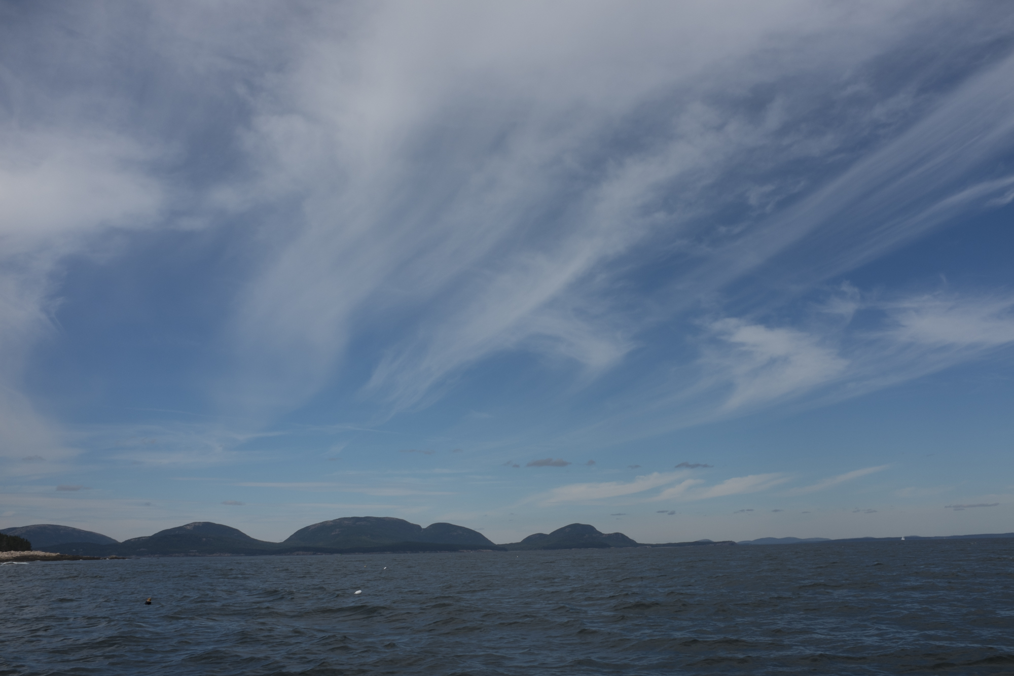 Clouds Over Mount Desert Island, Acadia National Park, ME